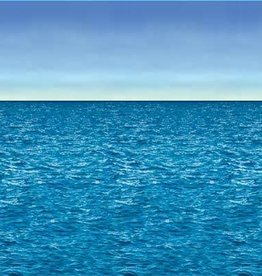 Beistle Co. TOILE DE FOND: OCEAN ET CIEL (4' X 30')