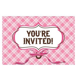 Creative Converting INVITATIONS CHEVAL D'AMOUR (8)