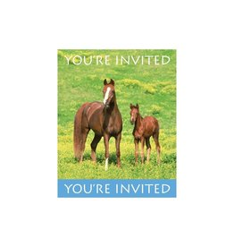 Creative Converting INVITATIONS CHEVAUX SAUVAGES (8)