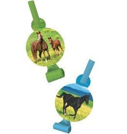 Creative Converting SOUFFLETS CHEVAUX SAUVAGES (8)