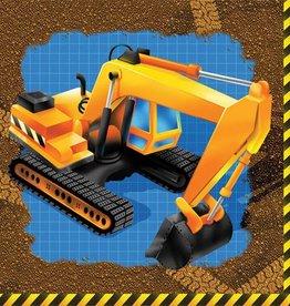 Creative Converting SERVIETTES DE TABLE CONSTRUCTION (16)