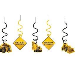 Creative Converting DECORATIONS SUSPENDUES ZONE DE CONSTRUCTION (5)