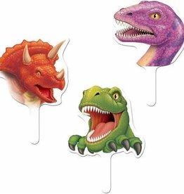 Creative Converting DECORATIONS POUR PETITS GATEAUX DINOSAURES (12)