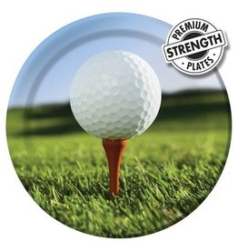 Creative Converting ASSIETTES 9'' GOLF (8)