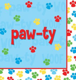 Creative Converting SERVIETTES DE TABLE PAW-TY TIME (16)