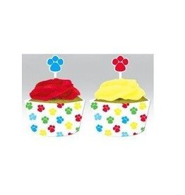 Creative Converting EMBALLAGES ET DECORATIONS POUR PETITS GATEAUX PAW-TY TIME (12)