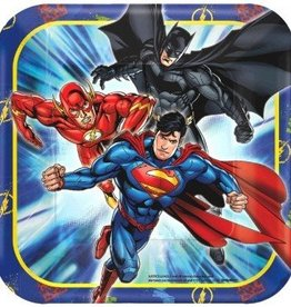 Amscan ASSIETTES 7'' - JUSTICE LEAGUE (8)
