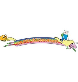 BANNIERE DE FETE ADVENTURE TIME