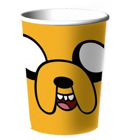 VERRE DE PLASTIQUE ADVENTURE TIME