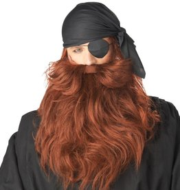 California Costumes BARBE & MOUSTACHE DE PIRATE