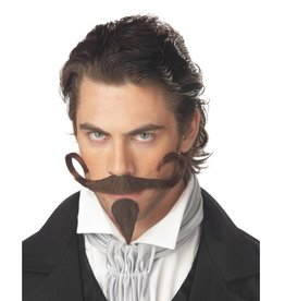 "California Costumes BARBE & MOUSTACHE ""THE GAMBLER"" BRUNE"
