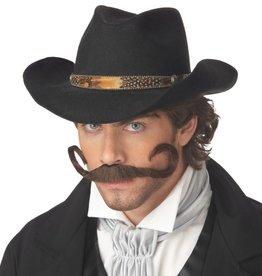 """California Costumes MOUSTACHE BRUNE """"THE GUNSLINGER"""""""