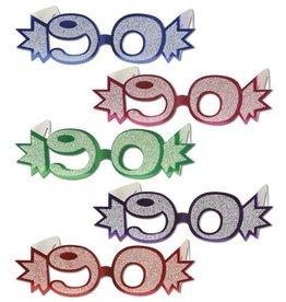 Beistle Co. LUNETTES DE CARTON 90 ANS (1)