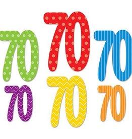 Beistle Co. DECOUPAGES DE CARTON 70 ANS (6)