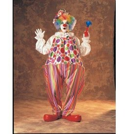 RUBIES COSTUME ADULTE CLOWN SNAZZY