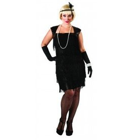 RUBIES COSTUME ADULTE FLAPPER TAILLE PLUS