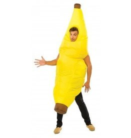 RUBIES COSTUME ADULTE BANANE GONFLABLE