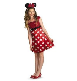 Disguise *COSTUME ENFANT ROBE MINNIE MOUSE ROUGE