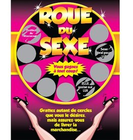 Créations ozze GRATTEUX - LA ROUE DU SEXE