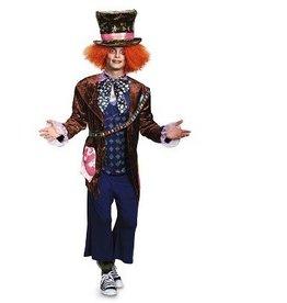 Disguise COSTUME ADULTE CHAPELIER FOU DELUXE / ALICE AU PAYS DES MERVEILLES