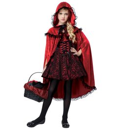 California Costumes COSTUME ENFANT CHAPERON ROUGE