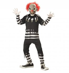 California Costumes COSTUME ENFANT CLOWN EFFRAYANT