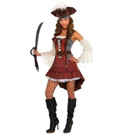 Amscan COSTUME ADULTE PIRATE CASTAWAY