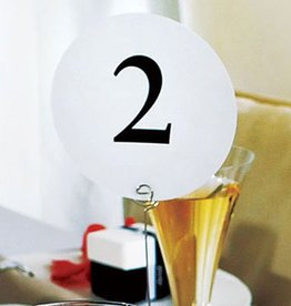 Weddingstar MARQUE-PLACES RONDS (1-12)