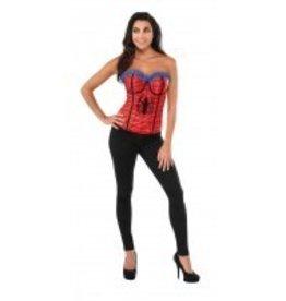 RUBIES *CORSET ADULTE SPIDER GIRL