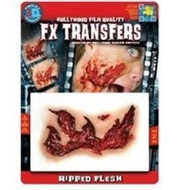 TINSLEY PROTHESE FX TRANSFERS - RIPPED FLESH