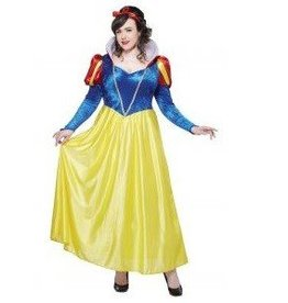 California Costumes COSTUME ADULTE BLANCHE NEIGE TAILLE PLUS