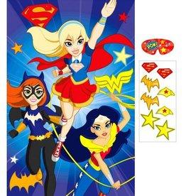 Amscan JEU DE FÊTE SUPER-HEROINES DC