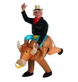 RUBIES COSTUME ADULTE RODEO GONFLABLE STD