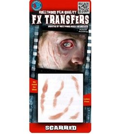 TINSLEY PROTHESE FX TRANSFERS - SCARRED