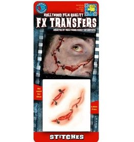 TINSLEY PROTHESE FX TRANSFERS - STITCHES