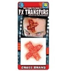 TINSLEY PROTHESE FX TRANSFERS - CROSS BRAND