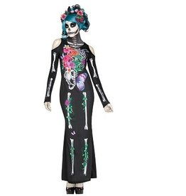 FUN WORLD COSTUME ADULTE BEAUTIFUL BONES