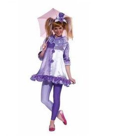 Forum Novelty COSTUME ADO CLOWN VIOLETTE