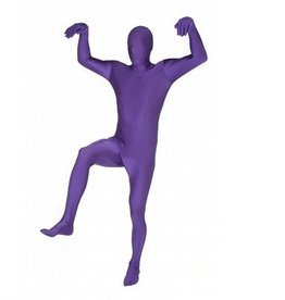 MORPHSUITS *COSTUME ENFANT MORPHSUIT MAUVE