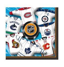 Unique SERVIETTES À COCKTAIL - NHL