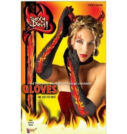 Forum Novelty GANTS LONG SEXY DIABLESSE