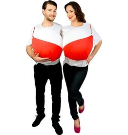 MORPHSUITS COSTUME MORPSUIT COUPLE BRASSIERE