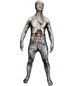 MORPHSUITS COSTUME MORPHSUIT ZOMBIE DELUXE