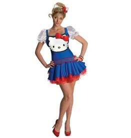 RUBIES COSTUME ADULTE HELLO KITTY CLASSIQUE
