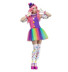 FUN WORLD COSTUME ADULTE CLOWN FEMME