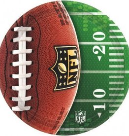 Amscan ASSIETTES 10.5PO NFL