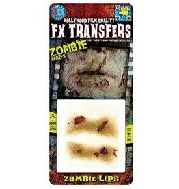TINSLEY PROTHESE FX TRANSFERS - ZOMBIE LIPS
