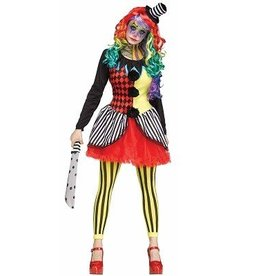 FUN WORLD COSTUME ADULTE CLOWN FREAK SHOW