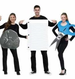 FUN WORLD COSTUME ADULTE ROCHE PAPIER CISEAUX