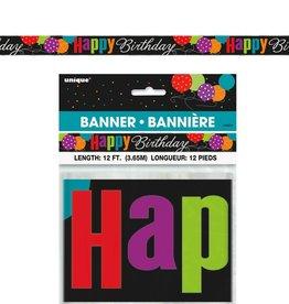 BANNIÈRE 12 PI HAPPY BDAY